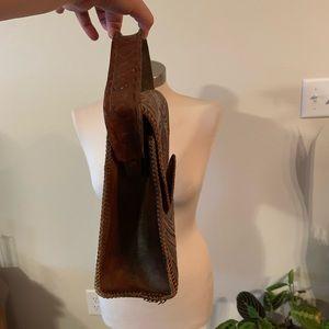 Bags - Vintage western tooled handbag